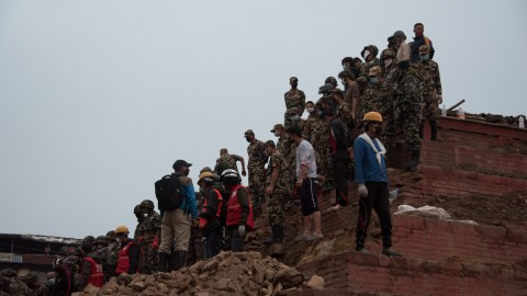 Images of Nepal Earthquake Aftermath