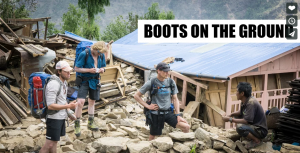 Nepal Relief: Boots on the Ground