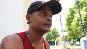 Brazilian homeless ask for help to be restored from the addiction