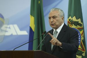 BRAZIL MAY DEPOSE SECOND PRESIDENT IN LESS THAN A YEAR