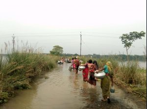 After the Flood: Terai Farms Left Destroyed